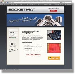 Touch Media Portfolio - Socket Mat